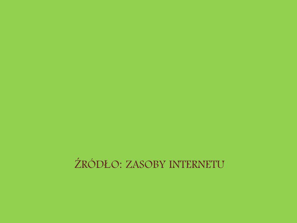 Ź RÓD Ł O: ZASOBY INTERNETU