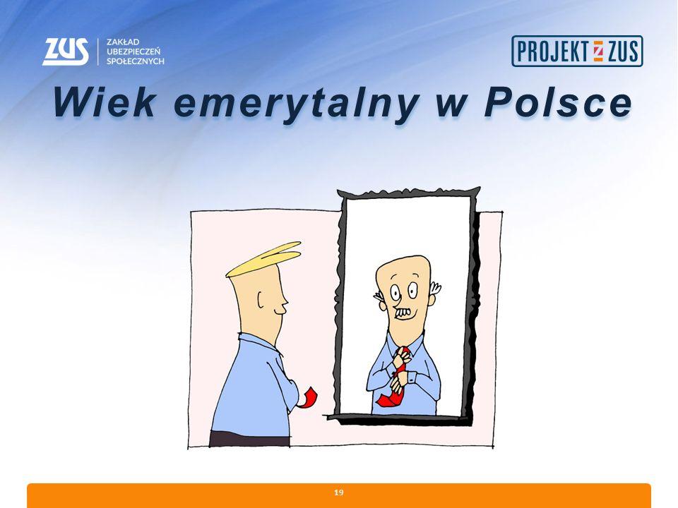 19 Wiek emerytalny w Polsce