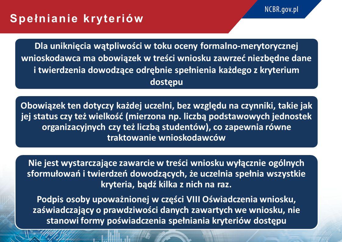 Kryteria premiujące Wszystkie zajęcia w ramach projektu odbywają się w języku obcym (5 pkt) Wyróżniająca ocena instytucjonalna PKA (5 pkt)