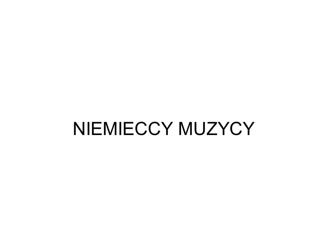 NIEMIECCY MUZYCY