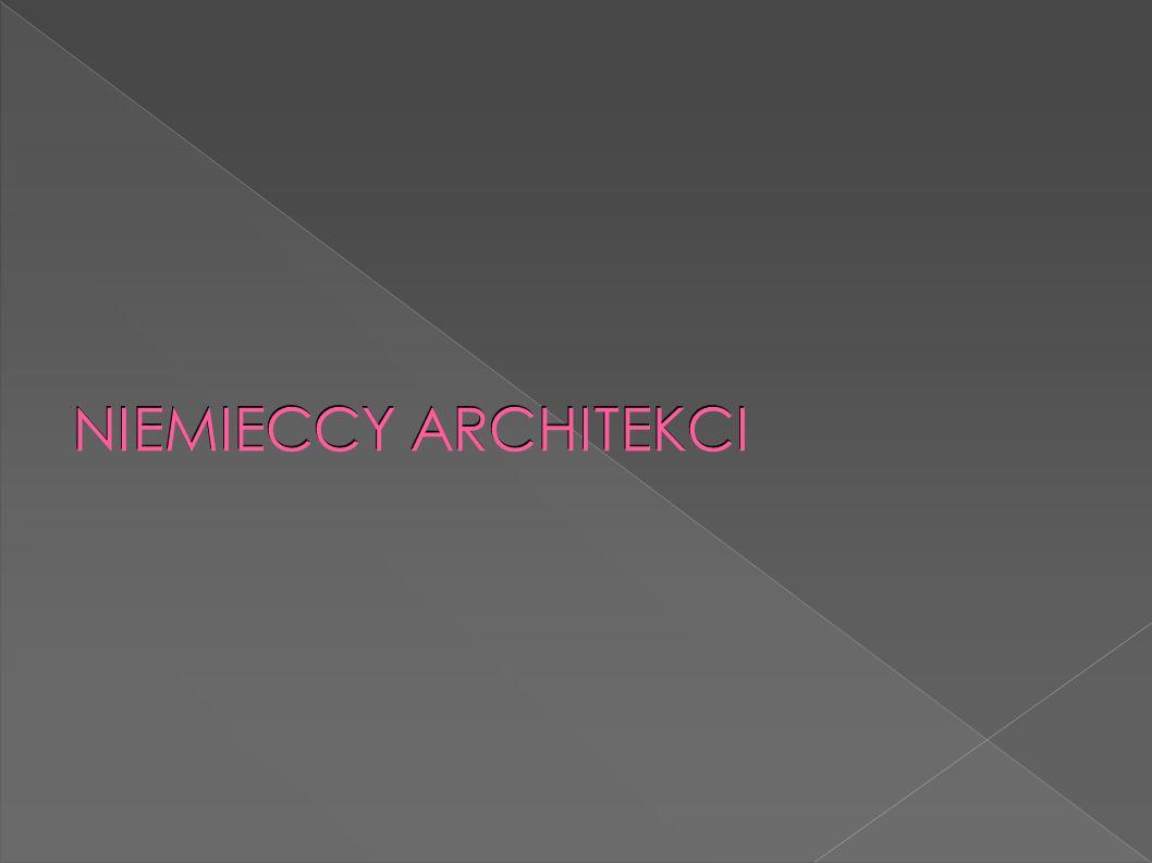 NIEMIECCY ARCHITEKCI