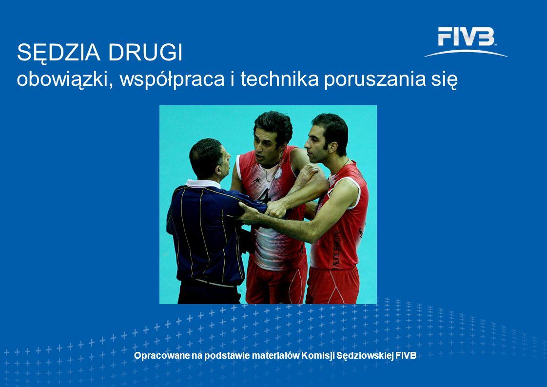 SĘDZIA DRUGI obowiązki, współpraca i technika poruszania się Opracowane na podstawie materiałów Komisji Sędziowskiej FIVB