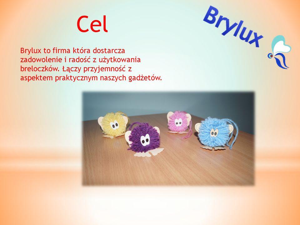 Cel Brylux to firma która dostarcza zadowolenie i radość z użytkowania breloczków.
