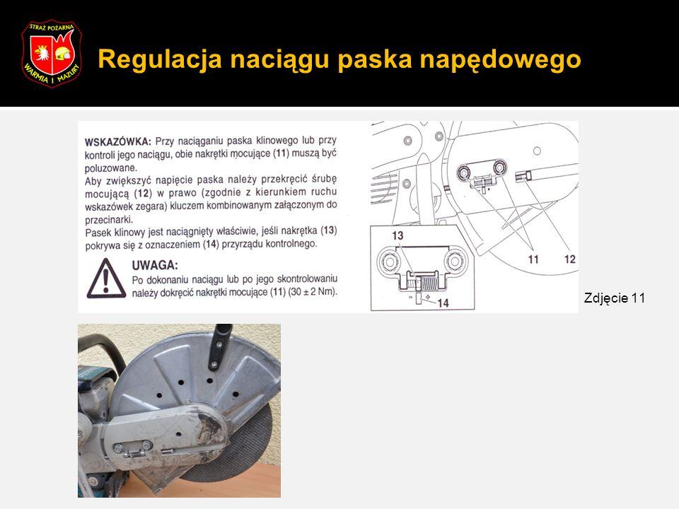 Regulacja naciągu paska napędowego Zdjęcie 11