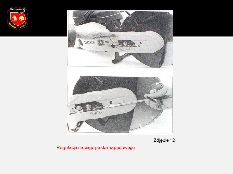 Regulacja naciągu paska napędowego Zdjęcie 12