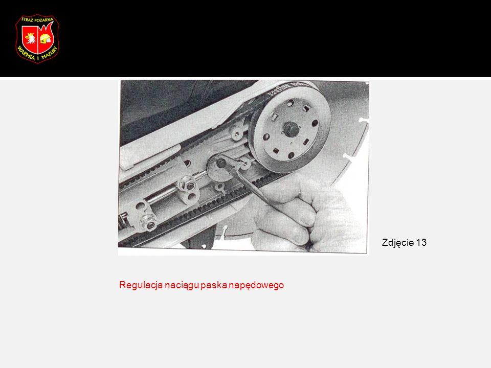 Regulacja naciągu paska napędowego Zdjęcie 13