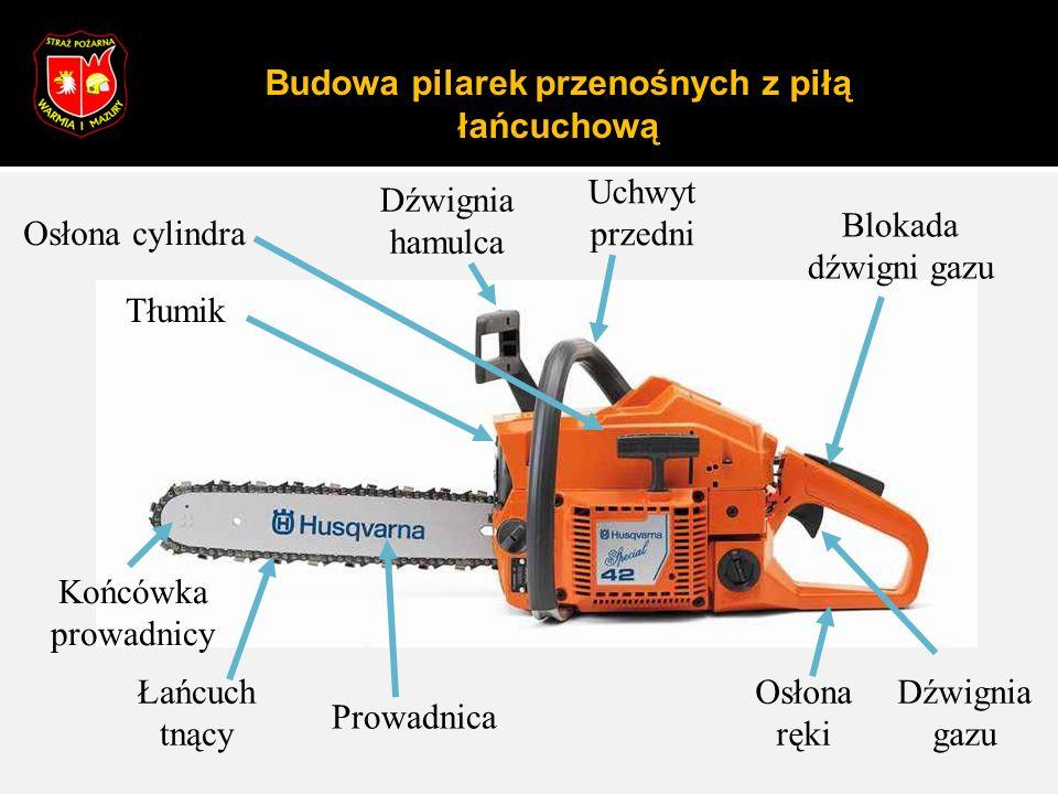 Eksploatacja przecinarki tarczowej Ciepły silnik Wszystkie czynności wykonać jak przy zimnym silniku, z wyjątkiem umieszczenia wyłącznika (6) w pozycji ssania.