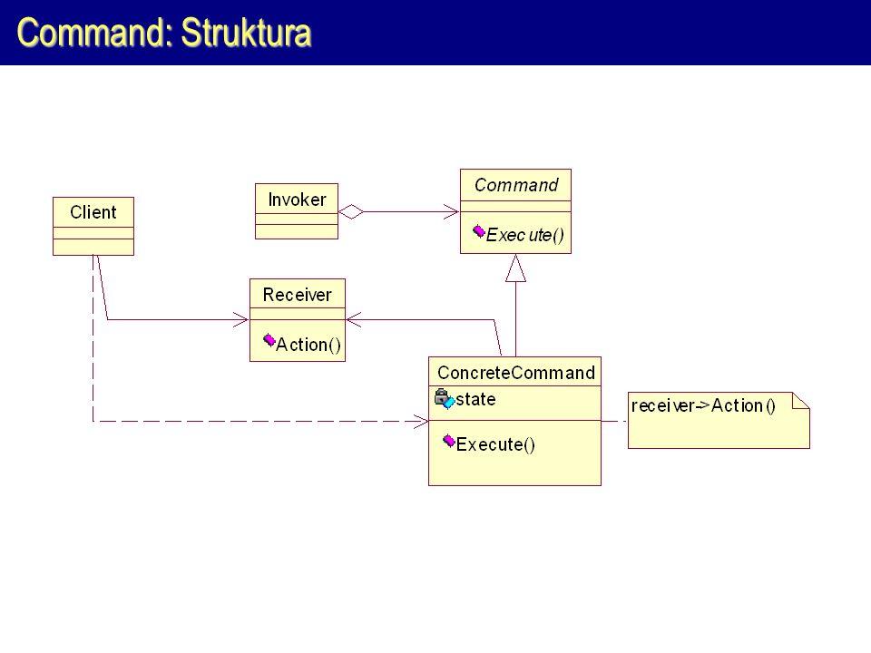Command: Struktura