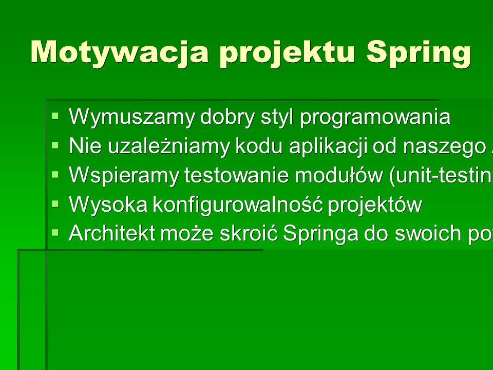 Spring DAO