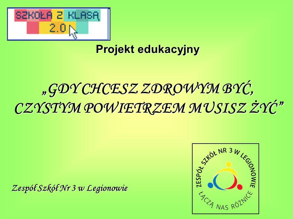 Czas trwania projektu: 01.09.2011r.– 31.05.2012r.