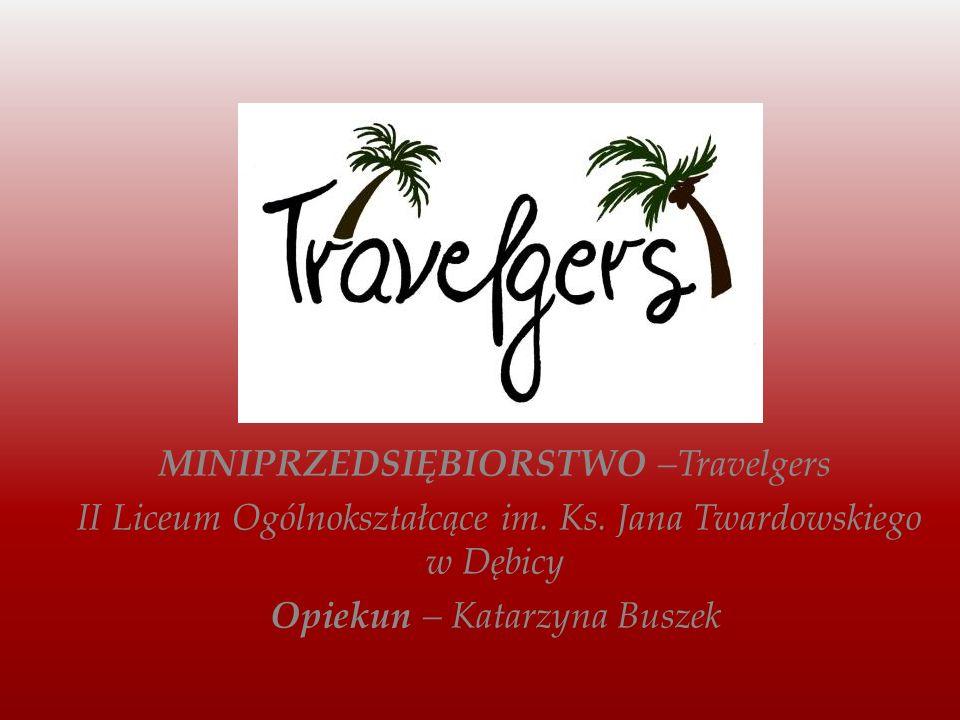 Travelgers to biuro podróży działające na terenie II Liceum Ogólnokształcącego w Dębicy.