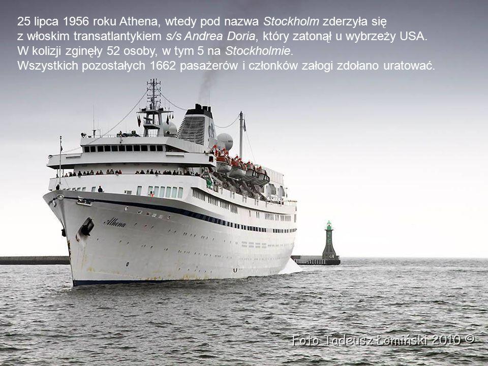 Rok budowy/ Przebudowy Built / Refit in - 1948/1994/ 2004 Długość / Lenght - 160 m Zanurzenie/ Draft - 7,7 m Tonaż / Tonnage - 16.144 GT Pasażerów/ Passengers - 651 Załoga / Crew - 260