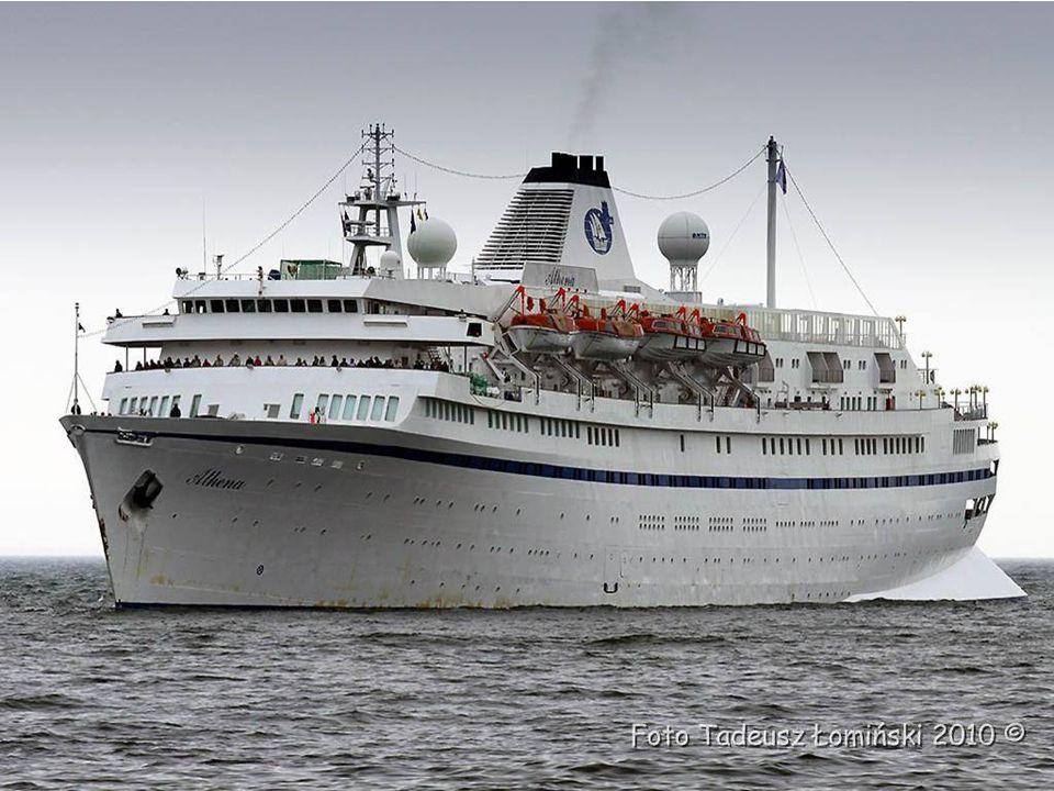 25 lipca 1956 roku Athena, wtedy pod nazwa Stockholm zderzyła się z włoskim transatlantykiem s/s Andrea Doria, który zatonął u wybrzeży USA.