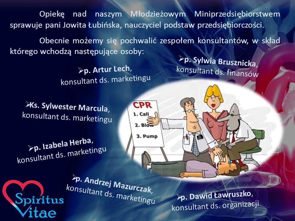 Opiekę nad naszym Młodzieżowym Miniprzedsiębiorstwem sprawuje pani Jowita Łubińska, nauczyciel podstaw przedsiębiorczości.