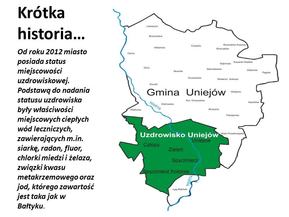 Historia (ważne daty) 1136 – pierwsze wzmianki o Uniejowie ok.