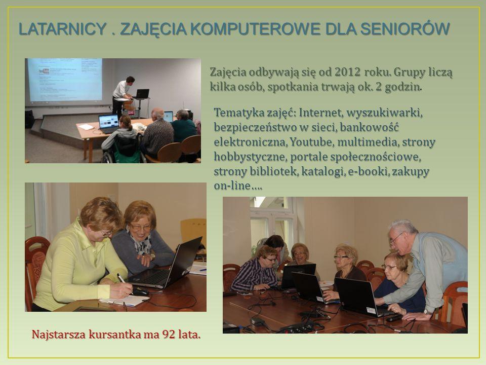 EXCEL.indywidualne zajęcia dla seniorów Pomysł jednej z bibliotekarek osiedlowej filii.