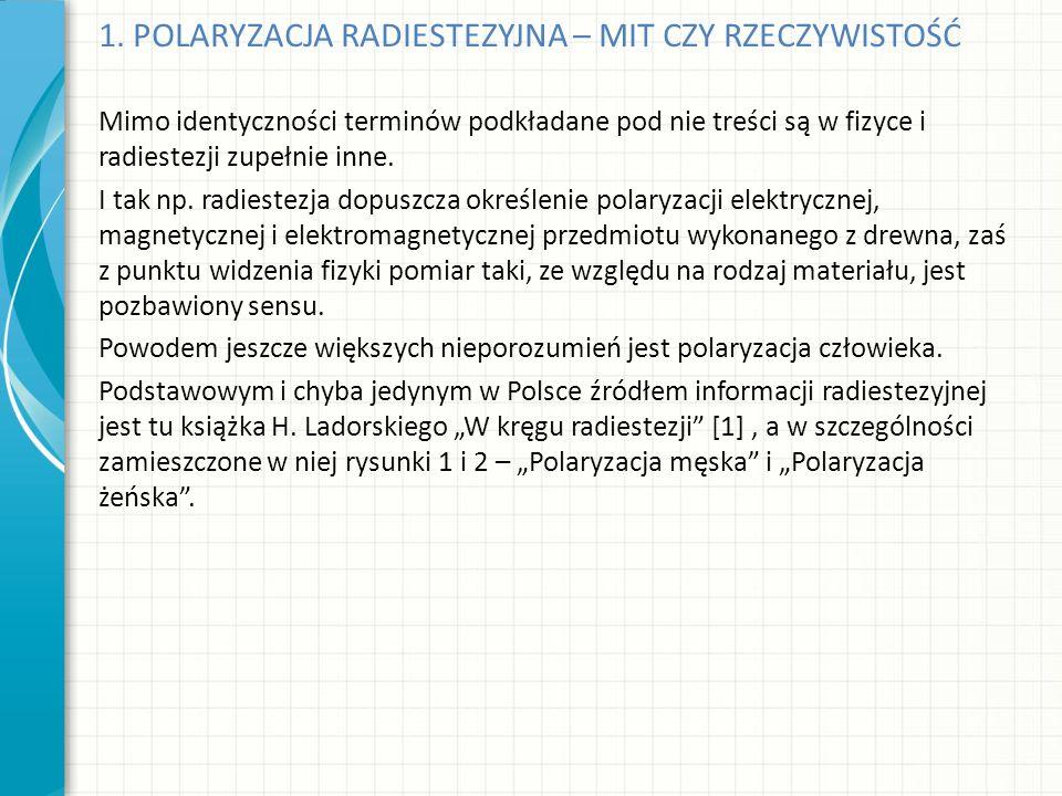1.Ladorski H., W kręgu radiestezji, K. P. P., 1984.