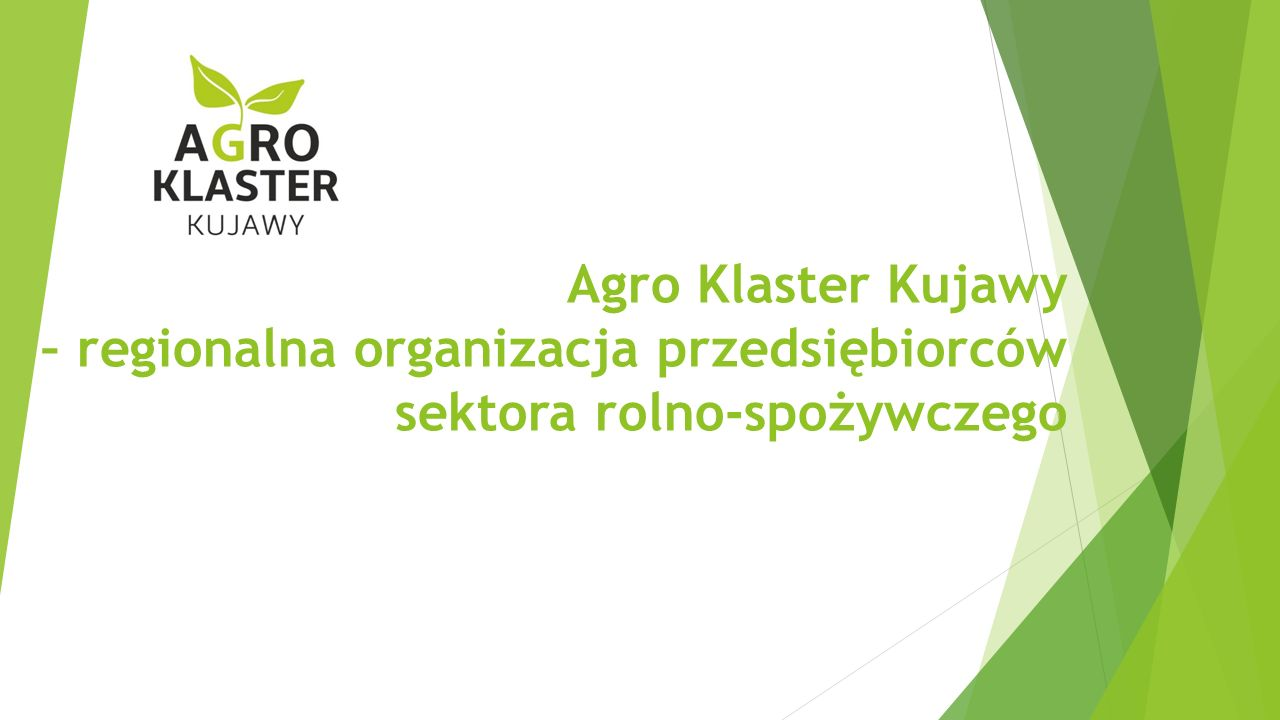 Agro Klaster Kujawy – regionalna organizacja przedsiębiorców sektora rolno-spożywczego
