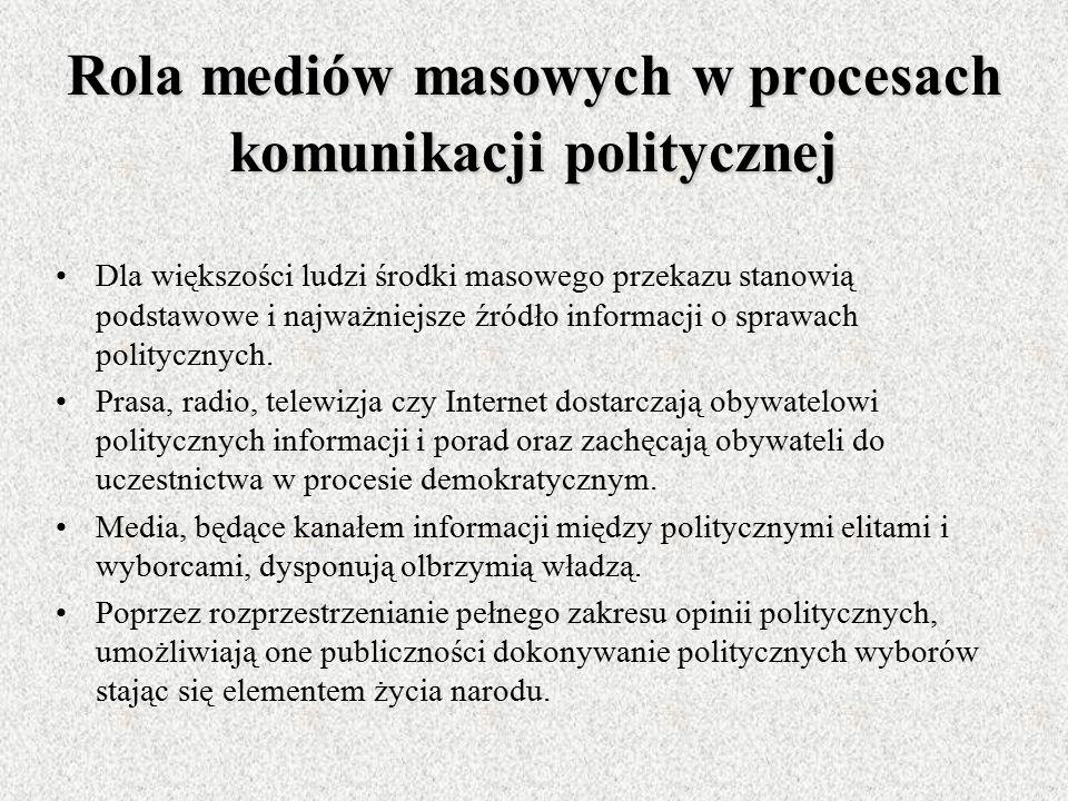 KOMUNIKOWANIE MIĘDZYNARODOWE Specyficzna forma komunikowania politycznego, w której aktorzy polityczni, będący reprezentantami różnych państw lub orga