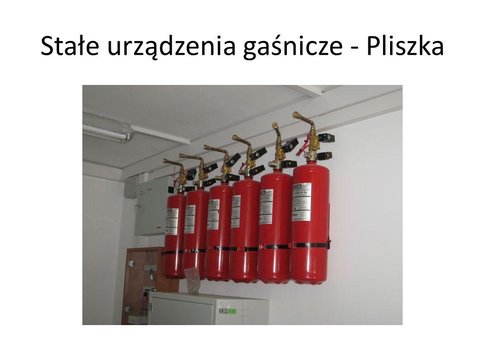 Stałe urządzenia gaśnicze - Pliszka