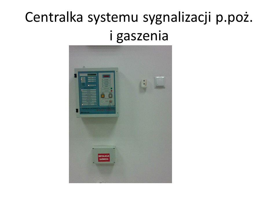 Centralka systemu sygnalizacji p.poż. i gaszenia