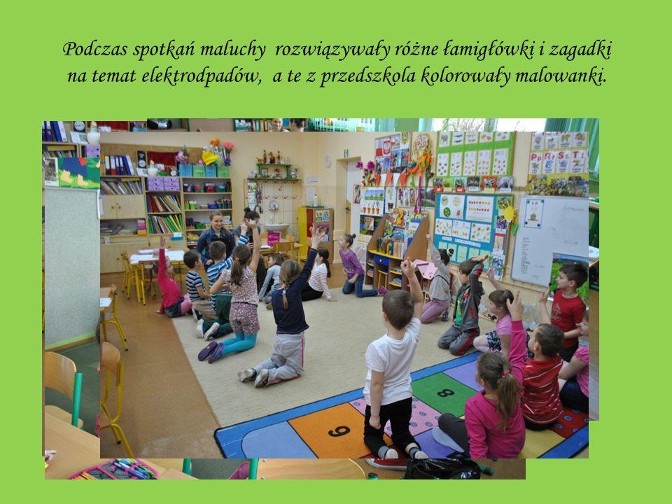 Czym skorupka za młodu nasiąknie … Informacjami o ZSEE podzieliliśmy się z przedszkolakami z Przedszkola Nr 1 oraz uczniami klas I – III Szkoły Podstawowej nr 3.