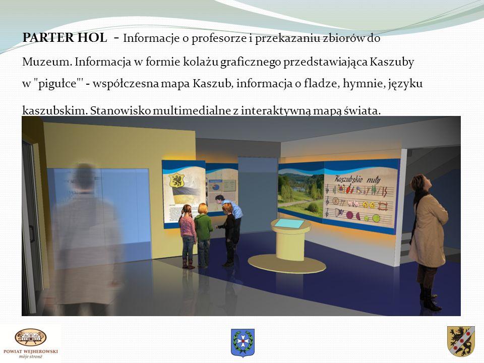 PARTER HOL - Informacje o profesorze i przekazaniu zbiorów do Muzeum.