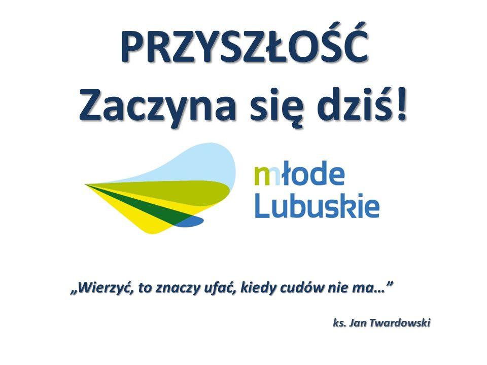 """PRZYSZŁOŚĆ Zaczyna się dziś! """"Wierzyć, to znaczy ufać, kiedy cudów nie ma…"""" ks. Jan Twardowski"""