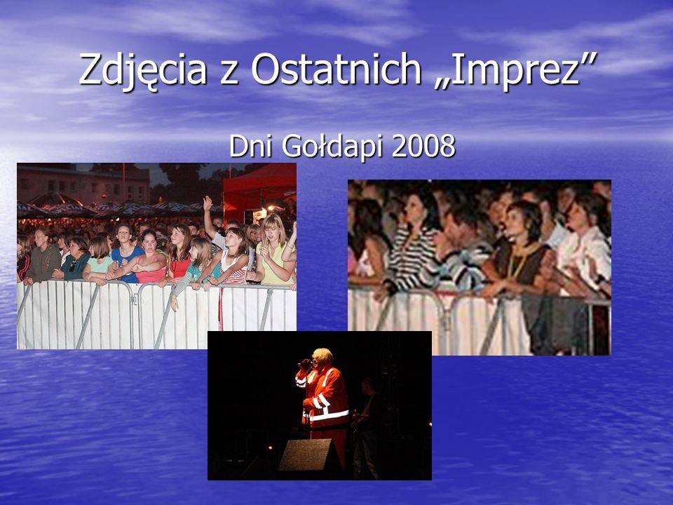 """Zdjęcia z Ostatnich """"Imprez Dni Gołdapi 2008"""