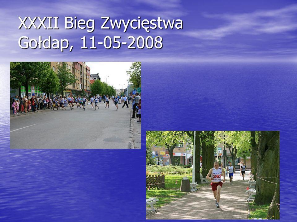 XXXII Bieg Zwycięstwa Gołdap, 11-05-2008