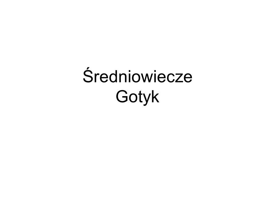 Średniowiecze Gotyk