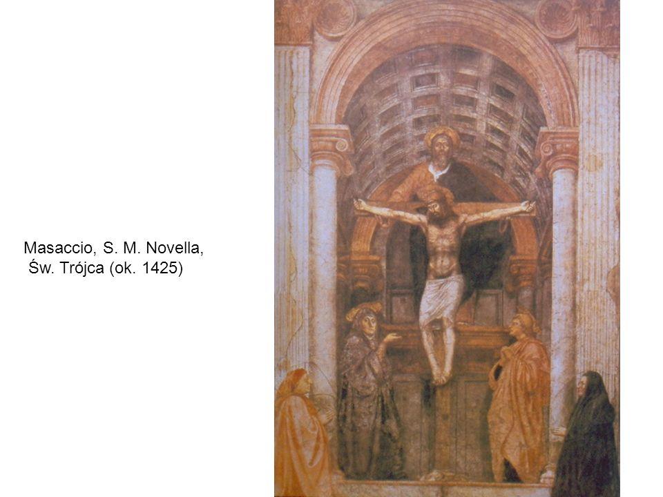 Masaccio, S. M. Novella, Św. Trójca (ok. 1425)