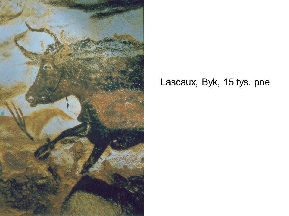 Lascaux, Koń, byk i ren