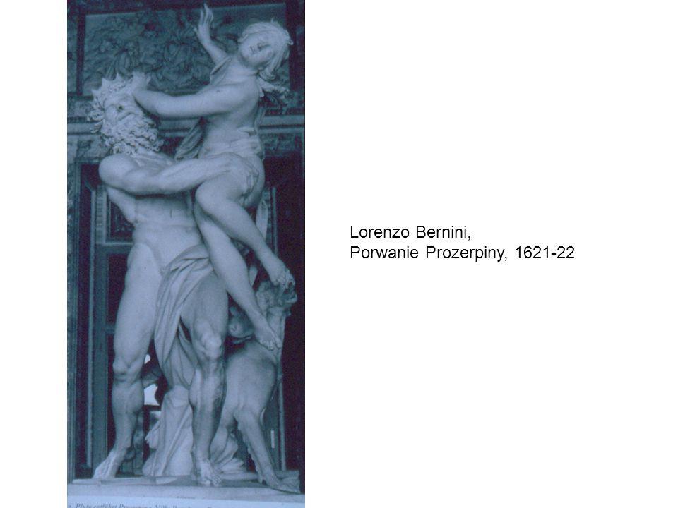 Lorenzo Bernini, Porwanie Prozerpiny, 1621-22
