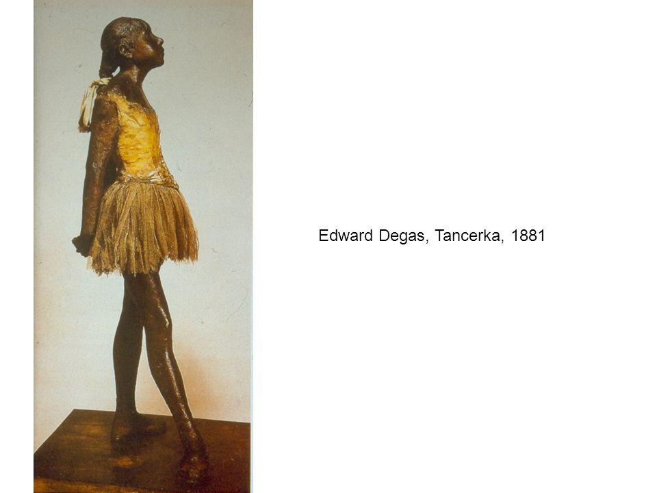 Edward Degas, Tancerka, 1881
