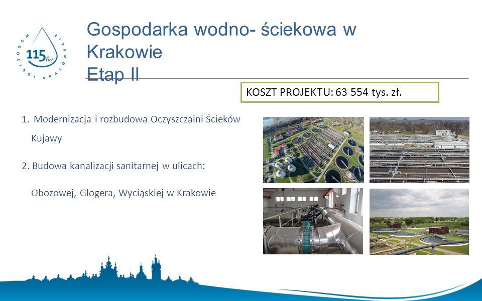 www.prostozkranu.krakow.pl 1. Modernizacja i rozbudowa Oczyszczalni Ścieków Kujawy 2.