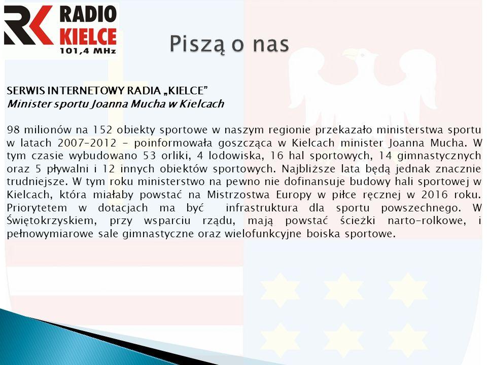 """PORTAL""""E-VIVE.PL Joanna Mucha: """"Umiemy budować infrastrukturę sportową, ale nie umiemy jej wykorzystywać Chcę przeprowadzić prawdziwą reformę polskiego sportu."""