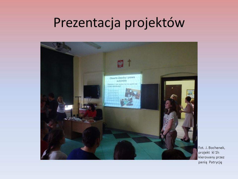 Zapoznanie młodzieży z zasadami konkursów Fot.P.