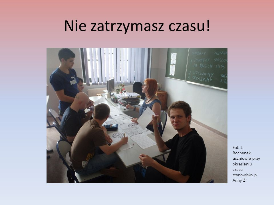 CC to nie taka prosta sprawa.Fot. I. Ziob, Uczniowie określają zasady stosowania CC- stanowisko p.