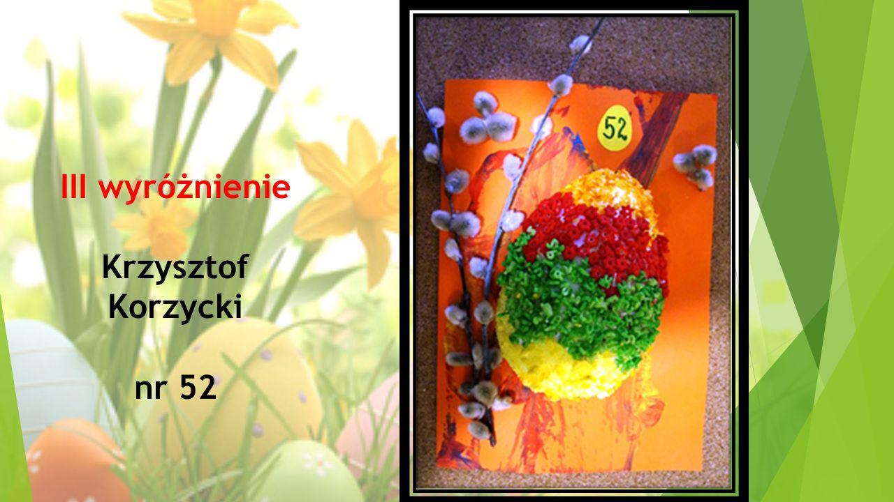 III wyróżnienie Krzysztof Korzycki nr 52