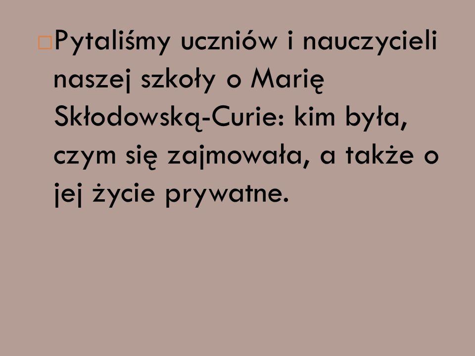 DZIĘKUJEMY ZA UWAGĘ I UDZIAŁ W NASZEJ ANKIECIE Kasia Rylewicz, Natalia Zarzycka, Kuba Pytlos kl. 6a
