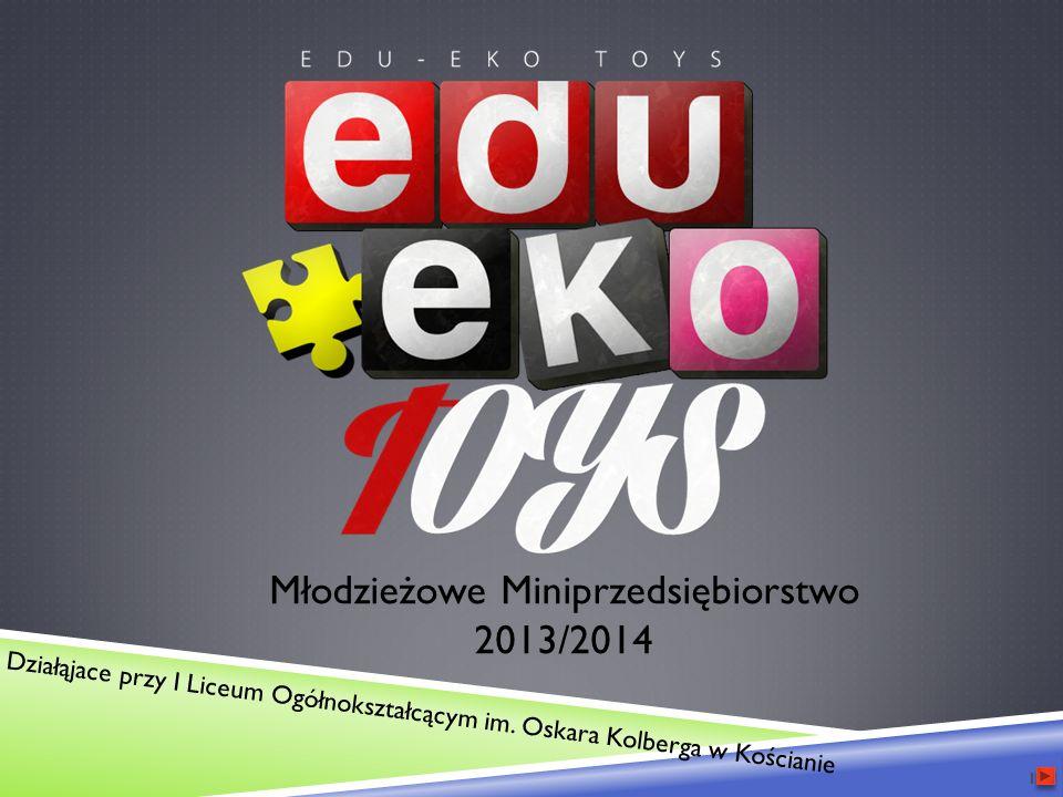 Młodzieżowe Miniprzedsiębiorstwo 2013/2014 Działąjace przy I Liceum Ogółnokształcącym im.