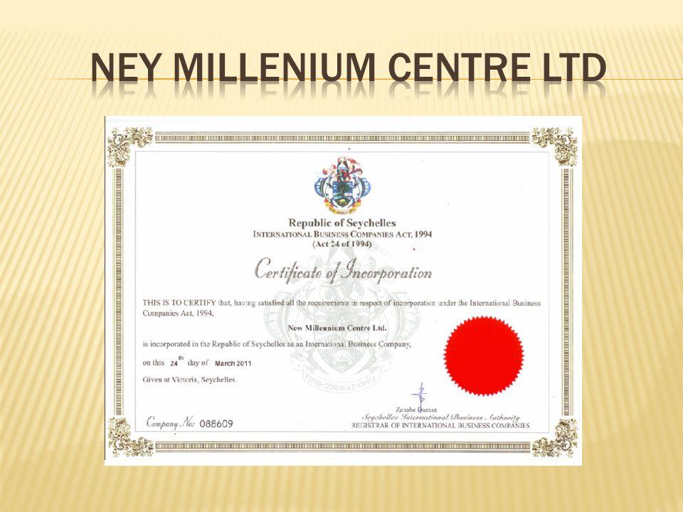  O FIRMIE:  Firma New Millenium Centre Ltd jest firmą amerykańską i została zarejestrowana 24 marca 2011 z możliwością oferowania swoich usług na całym świecie.