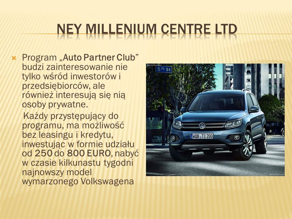 """ Program """"Auto Partner Club budzi zainteresowanie nie tylko wśród inwestorów i przedsiębiorców, ale również interesują się nią osoby prywatne."""