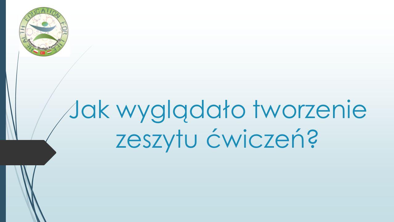 Wydarzenia związane z zeszytem ćwiczeń - Międzynarodowe szkolenie na Węgrzech.