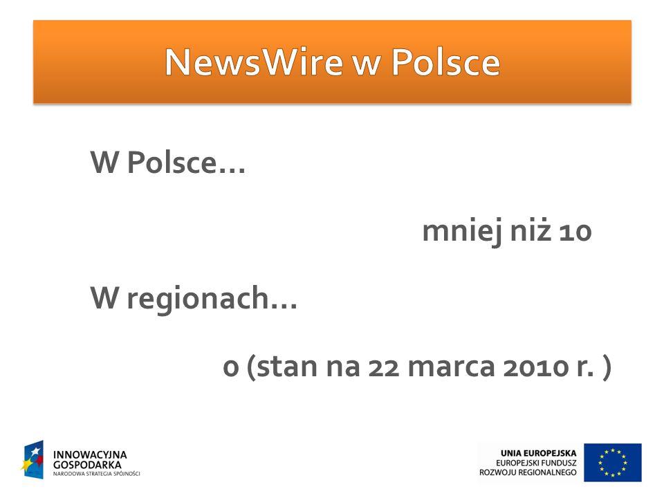Projekt InSilesia.pl – pierwszy śląski NewsWire jest współfinansowany ze środków Unii Europejskiej przyznanych w ramach Programu Operacyjnego Innowacyjna Gospodarka