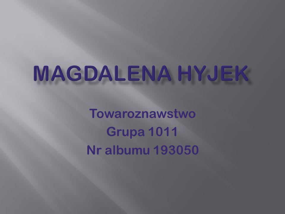 Towaroznawstwo Grupa 1011 Nr albumu 193050