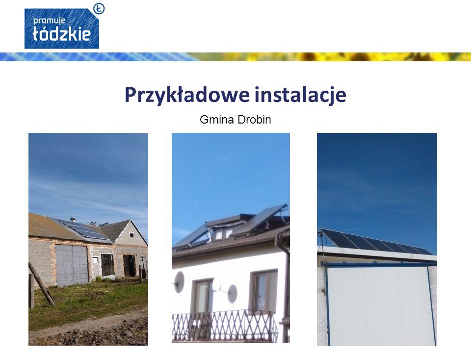 Przykładowe instalacje Gmina Drobin