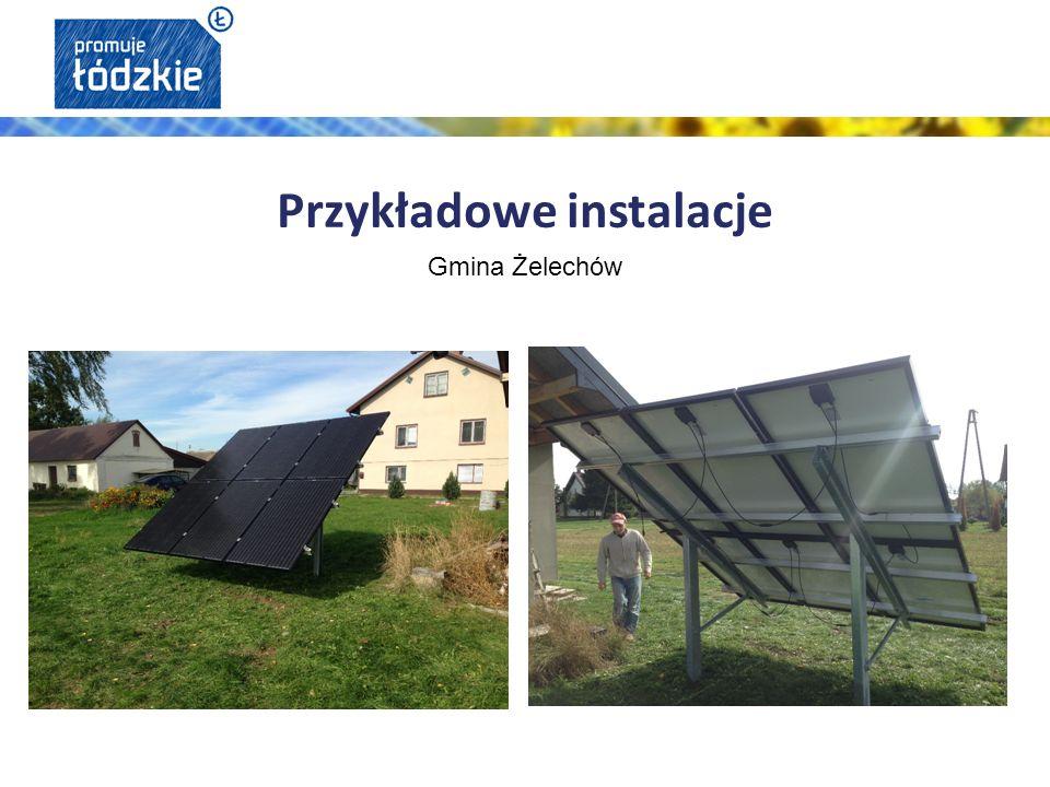 Gmina Żelechów Przykładowe instalacje