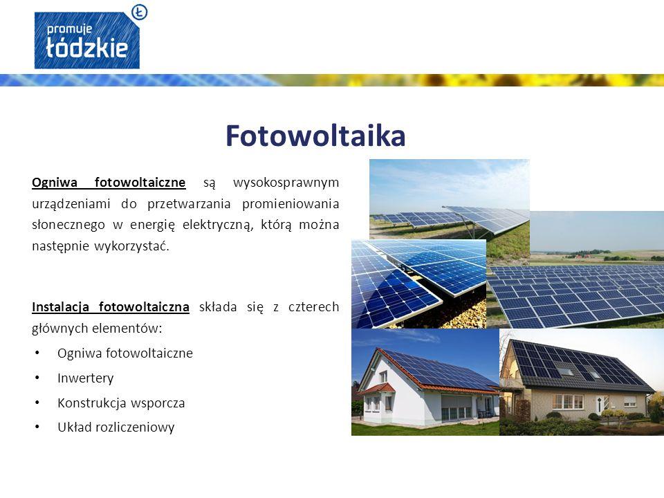 Ogniwa fotowoltaiczne są wysokosprawnym urządzeniami do przetwarzania promieniowania słonecznego w energię elektryczną, którą można następnie wykorzystać.